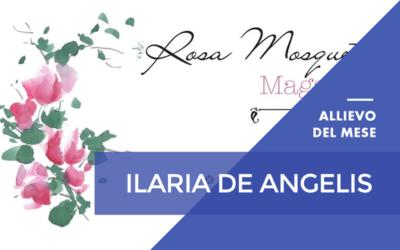 Dicembre 2016 – Ilaria De Angelis – Master Online in Grafica Pubblicitaria, Editoriale ed esperto eBook con Certificazione