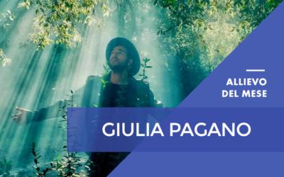 Gennaio 2017 – Giulia Pagano – Master Online in Grafica Pubblicitaria, Editoriale ed esperto eBook con Certificazione