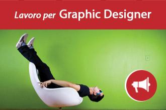 Lavoro per Graphic Designer