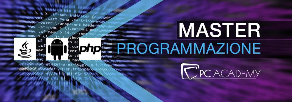 master-programmazione