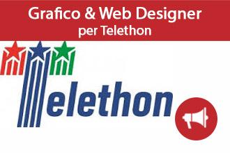 Grafico-Web Designer per Telethon