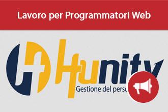 Programmatori Web per Hunity Eu Srl