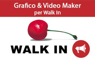Grafico e Video Maker per Walk In