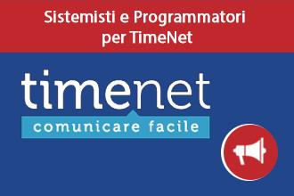 Trieste – TimeNet assume Programmatori e Sistemisti