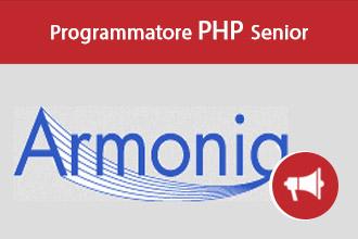 Programmatore PHP Senior per Armonia