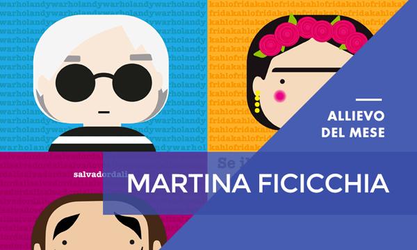 Luglio 2017 – Martina Ficicchia – Master Online in Grafica Editoriale ‐ Web Design & eCommerce con Certificazioni