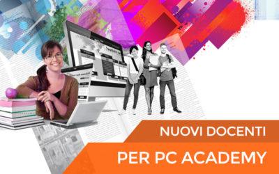 Nuovi docenti per PC Academy