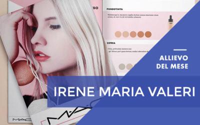 Aprile 2018 – Irene Maria Valeri – Master in Aula in Grafica Editoriale – Web Design & eCommerce con Certificazione Adobe