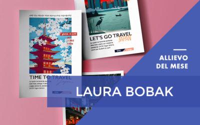 Giugno 2018 – Laura Bobak – Master in Aula in Grafica Editoriale – Web Design & eCommerce con Certificazione Adobe