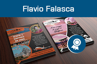 Giugno 2016 – Flavio Falasca – Master in Aula in Grafica Editoriale – Web Design & eCommerce