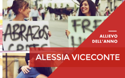 Alessia Viceconte allieva dell'anno 2015-2016