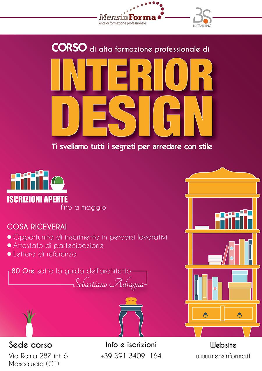 Salvatore tornitore for Corso interior design treviso